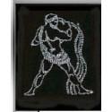 Картина из страз сваровски Знак зодиака Водолей малый