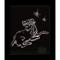 Картина из кристаллов сваровски Знак зодиака Овен малый