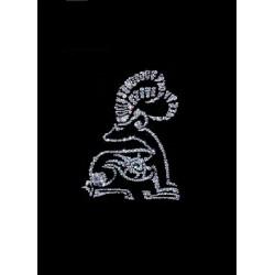 Картина из страз сваровски Знак зодиака Козерог большой