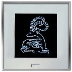 Картина из страз сваровски Знак зодиака Козерог средний