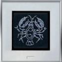 Картина из страз сваровски Знак зодиака Рак средний