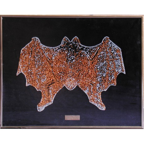 Картина из кристаллов сваровского Летучая мышь