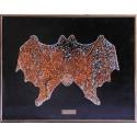 Картина из кристаллов сваровски Летучая мышь