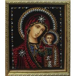 Икона Казанской Божьей Матери малая репродукция