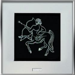 Картина из страз сваровски Знак зодиака Стрелец средний