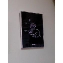 Картина из страз сваровски Знак зодиака Овен большой