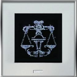 Картина из кристаллов сваровски Знак зодиака Весы средний