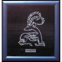 Картина из кристаллов сваровски Знак зодиака Козерог малый