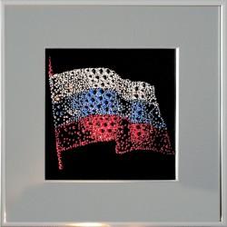 Флаг РФ с паспарту