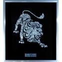 Картина из страз сваровски Знак зодиака Лев большой