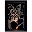 Картина из страз сваровски Бабочка белая большая