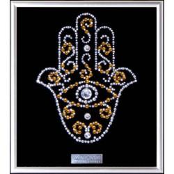 Картина из страз сваровски Рука Фатимы малая
