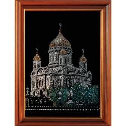 Картина из страз сваровски Собор (храм)
