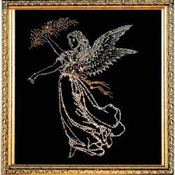 Картина из кристаллов Сваровски Богиня победы Ника