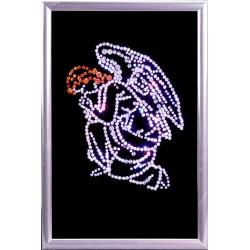 Картина из кристаллов сваровски Ангел кающийся