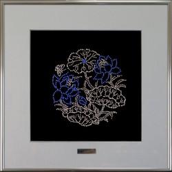 Картина из страз сваровски Водные лилии большие
