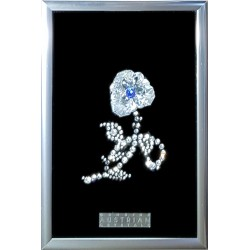 Картина из кристаллов сваровски Цветок 1