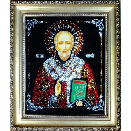 Икона Николай Чудотворец 2 средняя репродукция