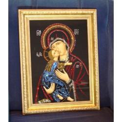 Икона Владимирской Богоматери репродукция