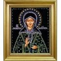 Картина из страз сваровски Икона Матрона малая репродукция штампованная