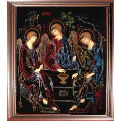 Картина из страз сваровски Икона Троицы
