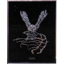 Картина из кристаллов сваровски Сова летящая